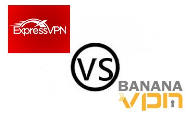 Express VPN vs Banana VPN