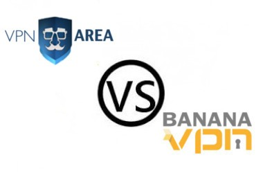 Vpn Area vs Banana VPN