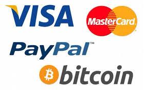 visa mastercard bitcoin paypal
