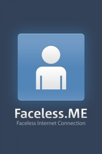 Faceless.me logo