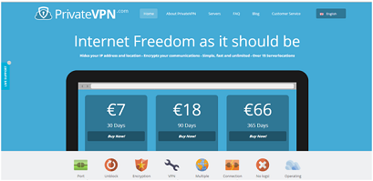 Private vpn prix