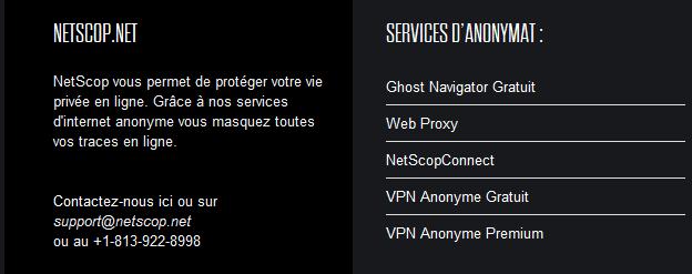 netscop site