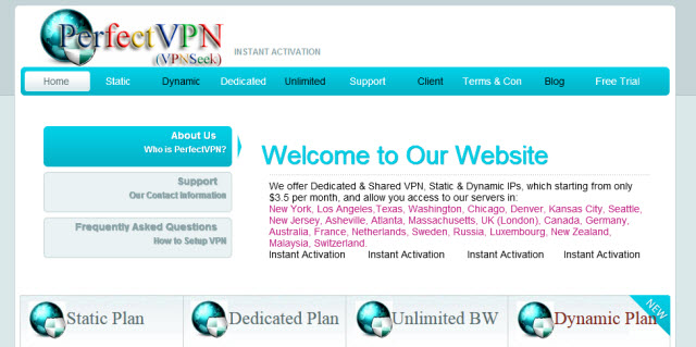 Vpnseek site