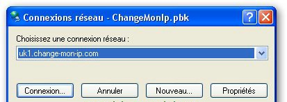 Change mon IP config