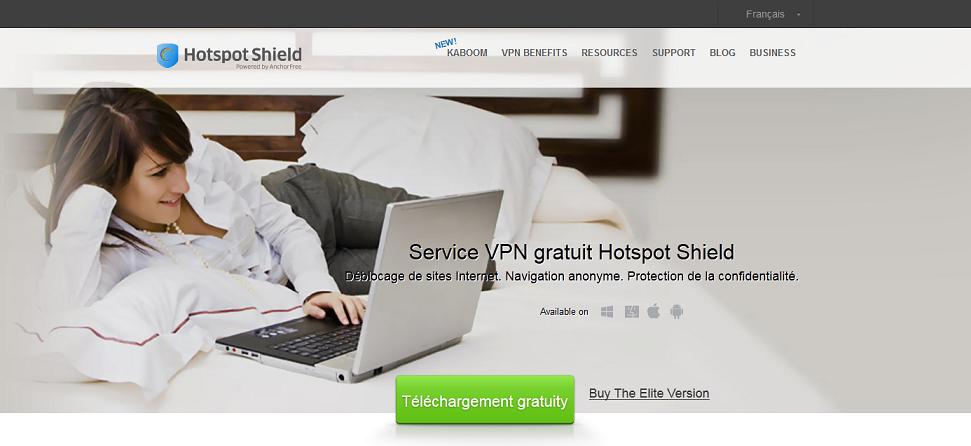 Hotspotshield site