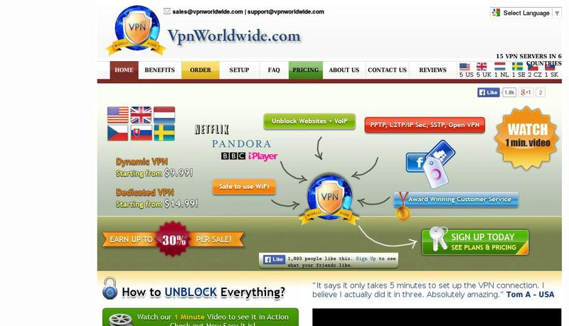 Vpn worldwide site