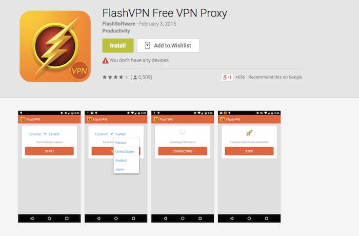 Flashvpn configuration