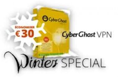 Promos d'Hiver Cyberghost vpn