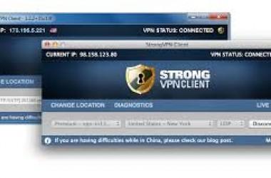 Accéder aux chaines de TV étrangères bloquées avec Strongvpn