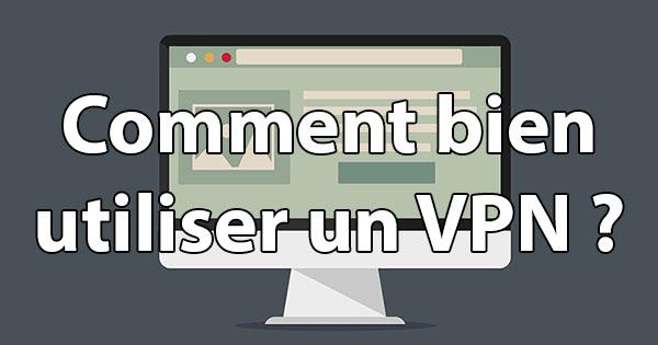 Utilisation VPN