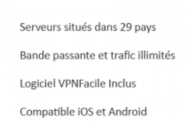 Vpnfacile : une nouvelle version disponible !