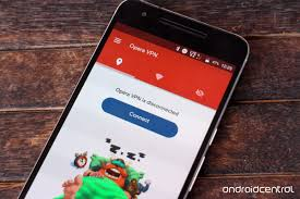 Opera vpn pour smartphone Android