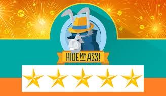 Hidemyass 5 étoiles
