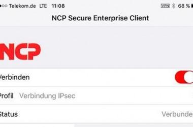 A propos du client vpn Secure Enterprise pour Apple Ios 9 et 10