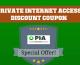 Promo Private Internet Access : jusqu'à 15% de remise
