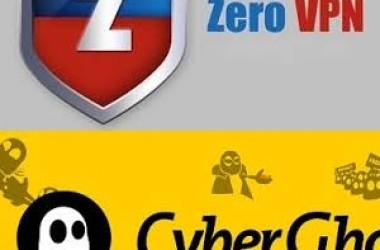 Zéro vpn vs CyberGhost vpn