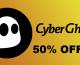 Promo exclusive Cyberghost vpn : -50% sur toutes les offres !  (Offre limitée – Cyberghost à 1.75 dollars/mois)