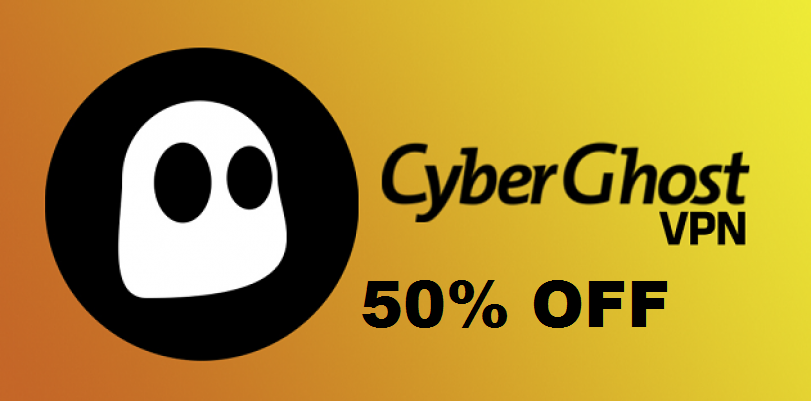 Cyberghost 50 pourcent off