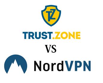 trust zone vs Nordvpn