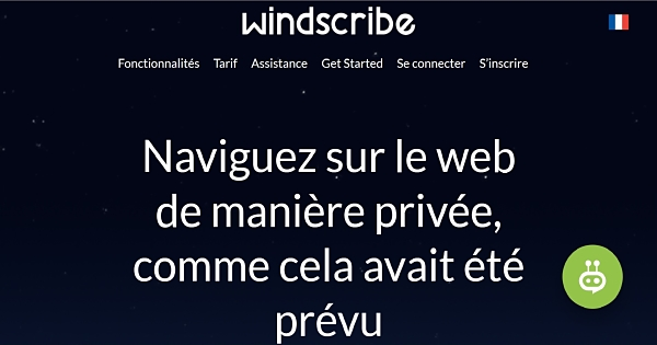 Avis Windscribe