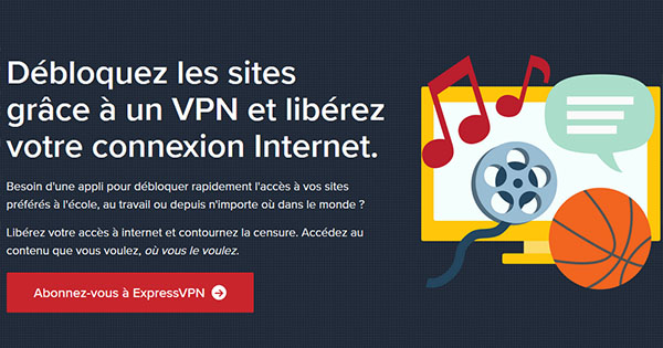 Censure ExpressVPN